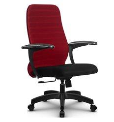 Кресло Метта SU-CM-10 красный для руководителя, ткань