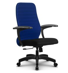 Кресло Метта SU-CM-10 синий для руководителя, ткань