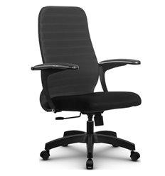 Кресло Метта SU-CM-10 темно-серый для руководителя, ткань