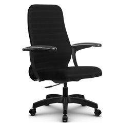 Кресло Метта SU-CM-10P черный для руководителя, ткань
