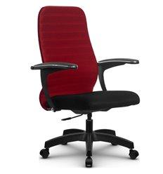 Кресло Метта SU-CM-10P красный для руководителя, ткань
