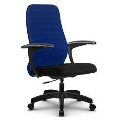 Кресло Метта SU-CM-10P синий для руководителя, ткань