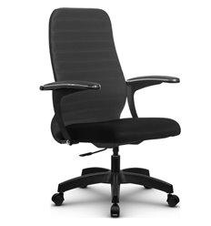 Кресло Метта SU-CM-10P темно-серый для руководителя, ткань