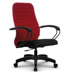 Кресло Метта SU-CP-10P красный для руководителя, ткань