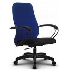 Кресло Метта SU-CP-10P синий для руководителя, ткань