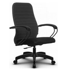 Кресло Метта SU-CP-10P темно-серый для руководителя, ткань