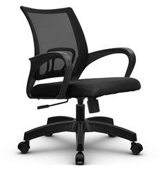 Кресло Метта SU-CS-9 черный для оператора, сетка/ткань