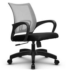 Кресло Метта SU-CS-9 светло-серый для оператора, сетка/ткань