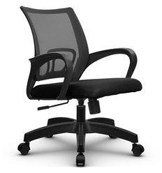 Кресло Метта SU-CS-9 темно-серый для оператора, сетка/ткань