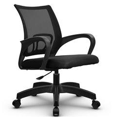 Кресло Метта SU-CS-9P черный для оператора, сетка/ткань