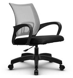 Кресло Метта SU-CS-9P светло-серый для оператора, сетка/ткань