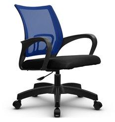 Кресло Метта SU-CS-9P синий для оператора, сетка/ткань