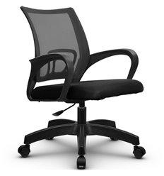 Кресло Метта SU-CS-9P темно-серый для оператора, сетка/ткань