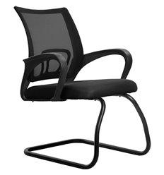 Кресло Метта SU-CS-9F2 черный для посетителя, сетка/ткань