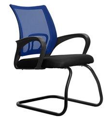 Кресло Метта SU-CS-9F2 синий для посетителя, сетка/ткань