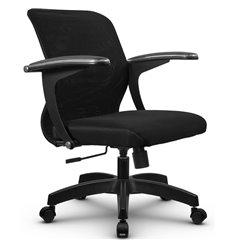 Кресло Метта SU-M-4 черный для оператора, сетка/ткань