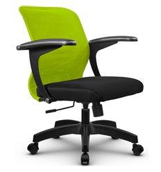 Кресло Метта SU-M-4 зеленый для оператора, сетка/ткань