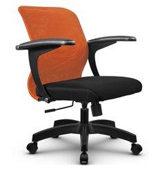 Кресло Метта SU-M-4 оранжевый для оператора, сетка/ткань