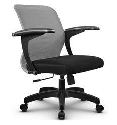 Кресло Метта SU-M-4 светло-серый для оператора, сетка/ткань