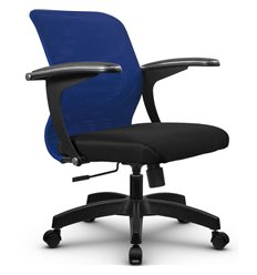 Кресло Метта SU-M-4 синий для оператора, сетка/ткань
