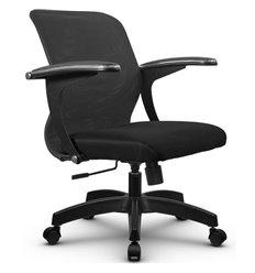 Кресло Метта SU-M-4 темно-серый для оператора, сетка/ткань