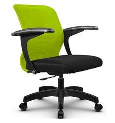 Кресло Метта SU-M-4P зеленый для оператора, сетка/ткань
