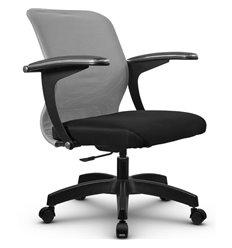 Кресло Метта SU-M-4P светло-серый для оператора, сетка/ткань