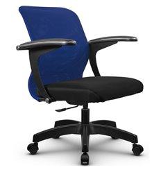 Кресло Метта SU-M-4P синий для оператора, сетка/ткань