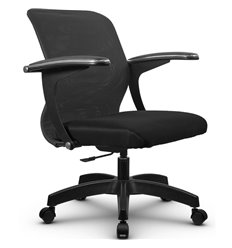 Кресло Метта SU-M-4P темно-серый для оператора, сетка/ткань