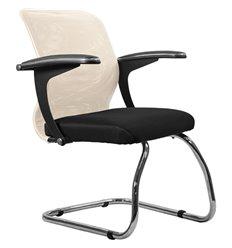 Кресло Метта SU-M-4F1 бежевый для посетителя, сетка/ткань