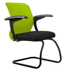 Кресло Метта SU-M-4F2 зеленый для посетителя, сетка/ткань