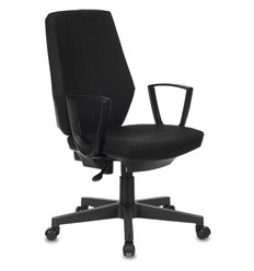 Кресло Бюрократ CH-545/418-BLACK для оператора, ткань, цвет черный