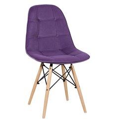 Стул Монако WX-302 фиолетовый дизайнерский, велюр