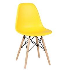 Стул EAMES DSW WX-503 желтый дизайнерский, пластик