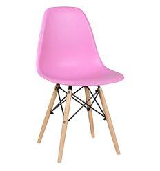Стул EAMES DSW WX-503 розовый дизайнерский, пластик