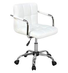 Кресло Аллегро WX-940 для оператора, экокожа, цвет белый