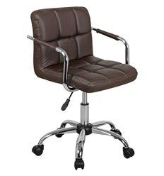 Кресло Аллегро WX-940 для оператора, экокожа, цвет коричневый