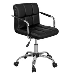 Кресло Аллегро WX-940 для оператора, экокожа, цвет черный