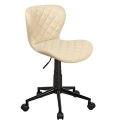 Кресло Бренд WX-970 для оператора, экокожа, цвет бежевый