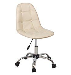 Кресло Крейг WX-980 для оператора, экокожа, цвет бежевый