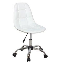 Кресло Крейг WX-980 для оператора, экокожа, цвет белый