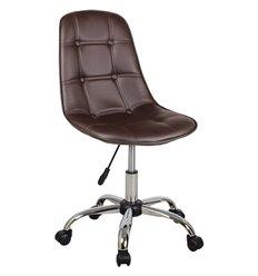Кресло Крейг WX-980 для оператора, экокожа, цвет коричневый