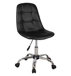 Кресло Крейг WX-980 для оператора, экокожа, цвет черный