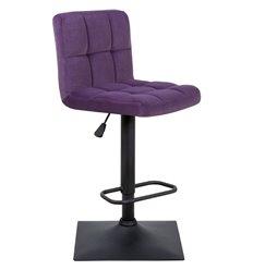 Стул барный Курт WX-2320 фиолетовый, велюр