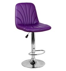 Стул барный Нерон WX-2711 фиолетовый, экокожа