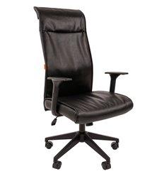 Кресло CHAIRMAN 510 для руководителя, экокожа, цвет черный