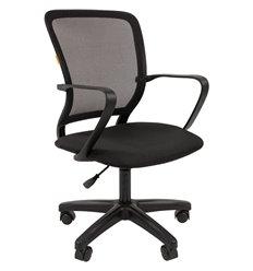 Кресло CHAIRMAN 698 LT BLACK для оператора, сетка/ткань, цвет черный