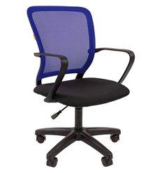 Кресло CHAIRMAN 698 LT TW-05 синий для оператора, сетка/ткань