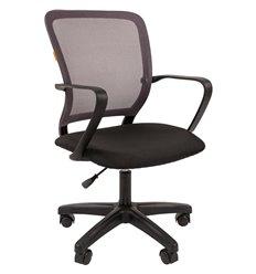 Кресло CHAIRMAN 698 LT TW-04 серый для оператора, сетка/ткань