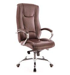 Кресло EVERPROF ARGO M PU Brown для руководителя, экокожа, цвет коричневый